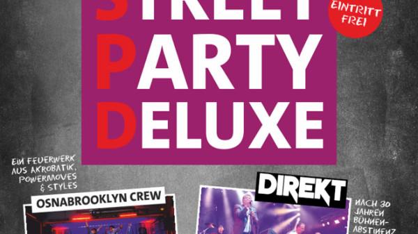 Plakat Street Party