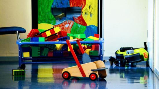 Kinderspielzeug in Kita