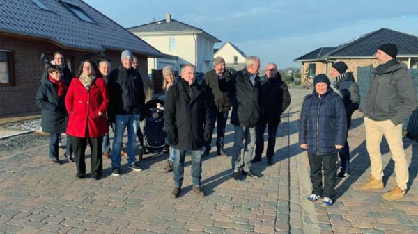 Ortstermin der SPD-Stadtratsfraktion in der Bonhoeffer-Str.