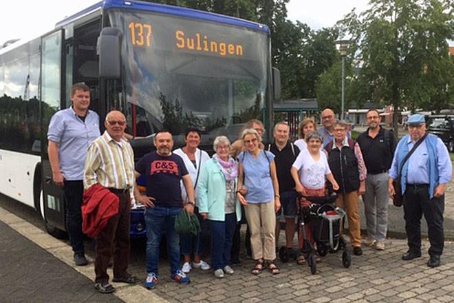 Teilnehmer der Sommertour