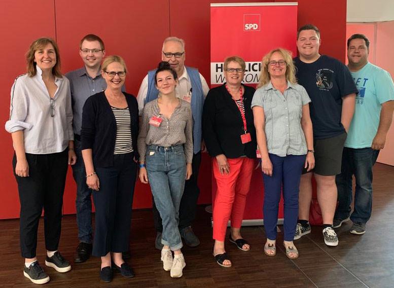 Bild vom Parteitag des SPD-Bezirks Hannover